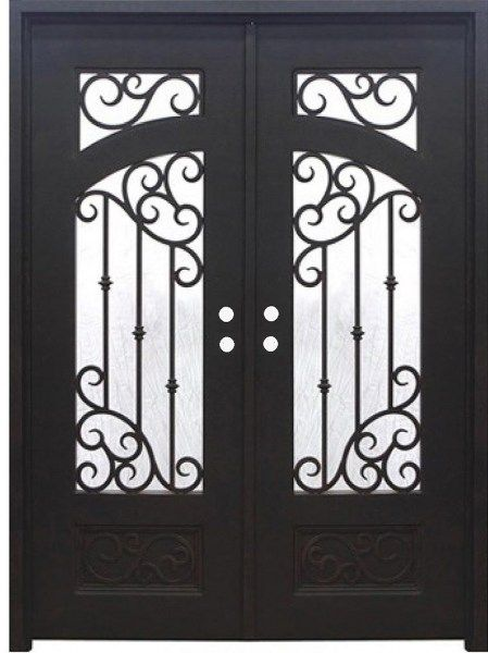 Iron Doors In Stock With Images Iron Doors Wrought Iron Doors