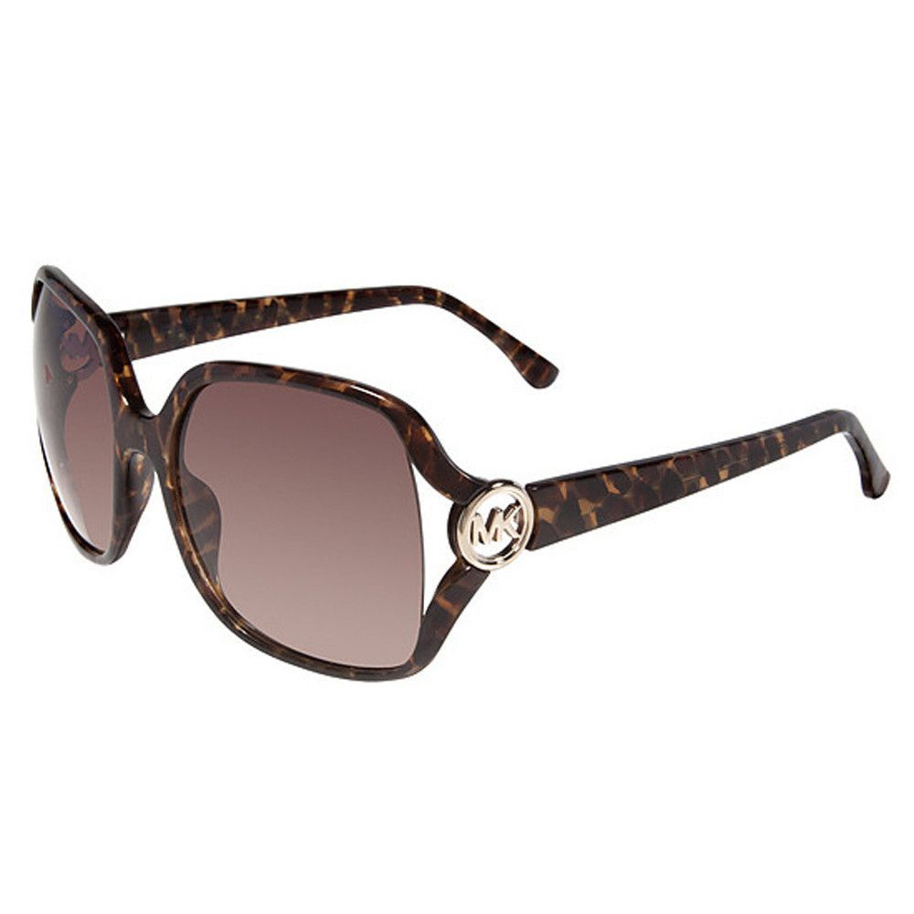 3f0814be1bb3 Michael Kors M2784S-206 Women's Pippa Brown Gradient Lens Tortoise Plastic  Frame Sunglass