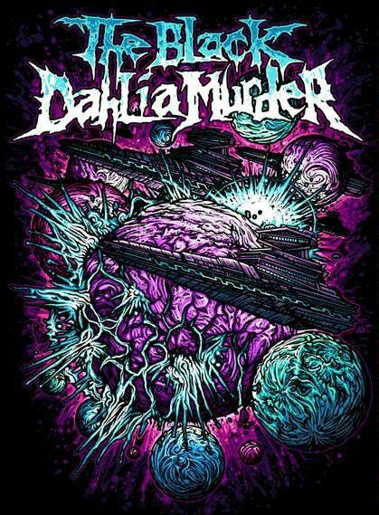 wallpaper the black dahlia murders band