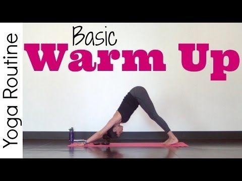 basic yoga warm up  yoga cooking green spiritual eco