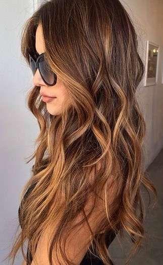 17 Ideas De Mechas Ojo De Tigre Peinados Belleza Del Cabello Tintes De Cabello