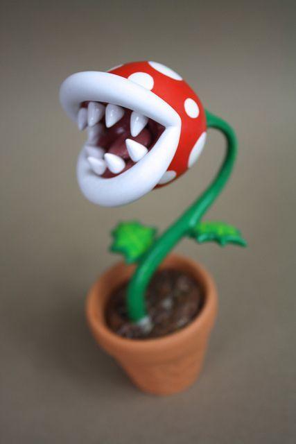 Mario Brothers | Fleischfressende pflanze, Bastelideen, Diy ...