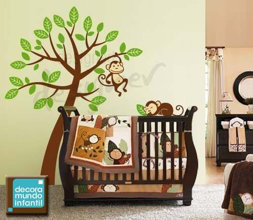 Decoracion con arboles7 ideas para el hogar pinterest for Decoracion para cuarto de bebe varon