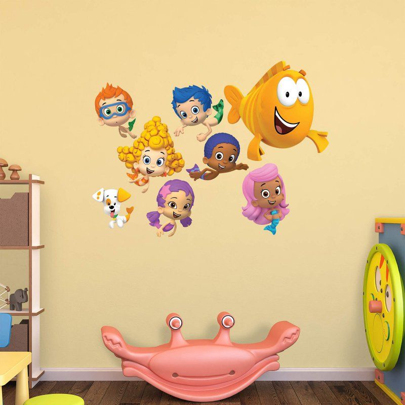 Fathead Nickelodeon Bubble Guppies Wall Decal Collection - 18-00033 ...
