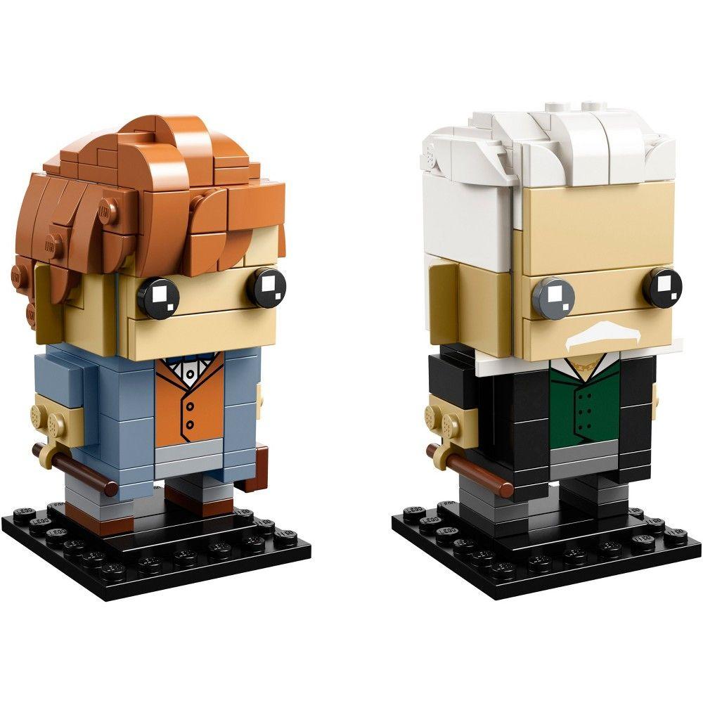 Lego Brickheadz Harry Potter Fantastic Beasts 41631 Harry Potter Lego Sets Newt Scamander Fantastic Beasts