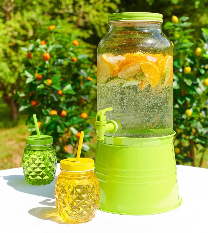 Sirotez Un Cocktail Vitamine Gifi Orangeade Orange Masonjars Fresh Sun Instahome Spring Mason Jars Instahome Outdoor Decor