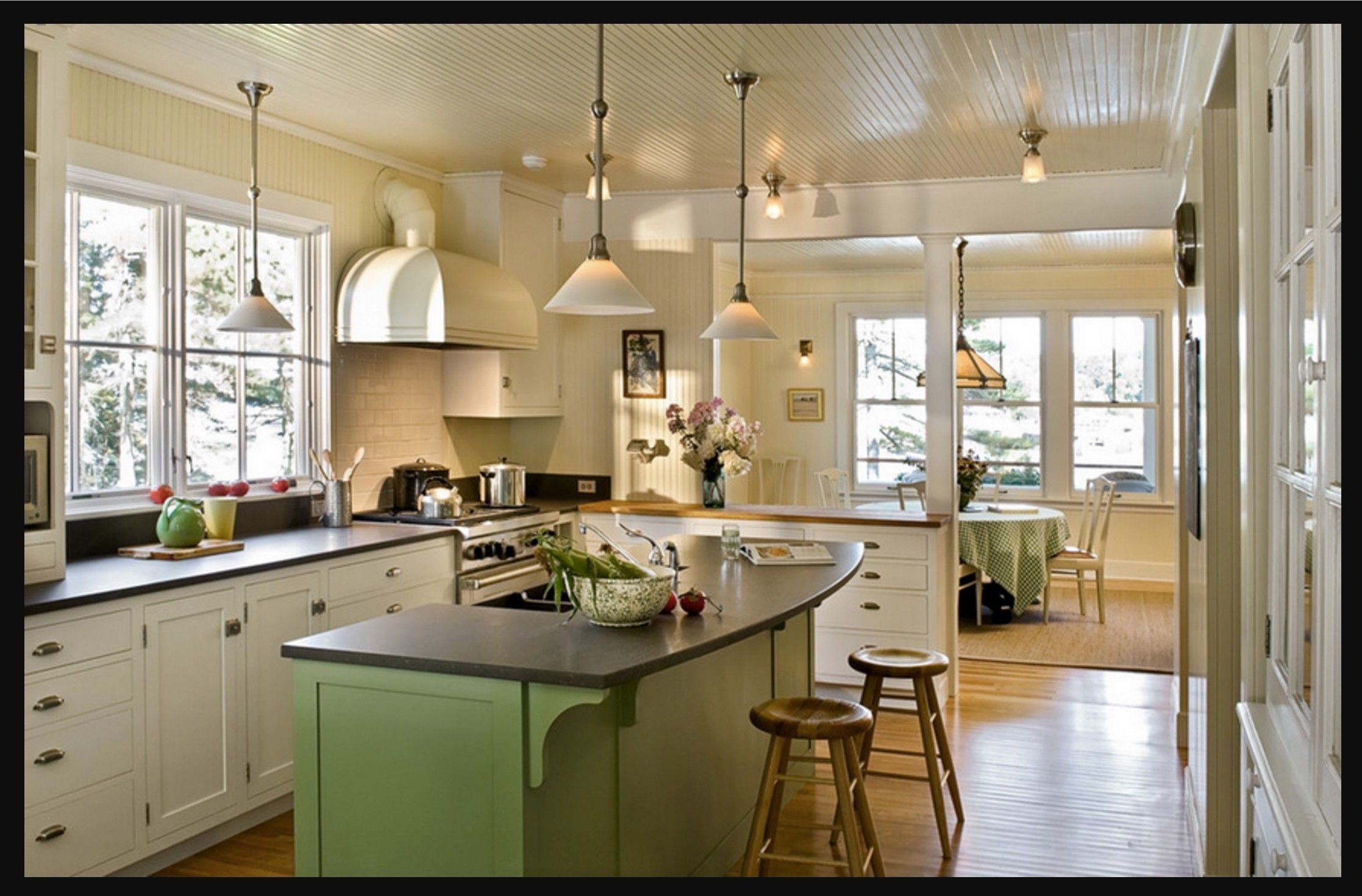 Amazing Using Kitchen Cabinets For Home Office