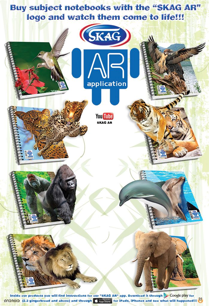 8 Animals come to life !!!! Ar logo, Augmented reality