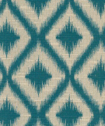 Merveilleux Robert Allen @ Home Upholstery Fabric Ikat Fret Charcoal
