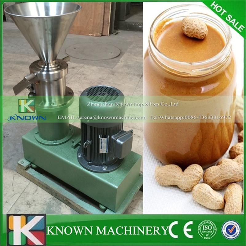2320.02$  Watch now - http://alir1l.worldwells.pw/go.php?t=32770661187 - Best seller KN-Split-80 stainless steel peanut butter sesame paste chilli sauce colloid mill machine  fee shipping 2320.02$