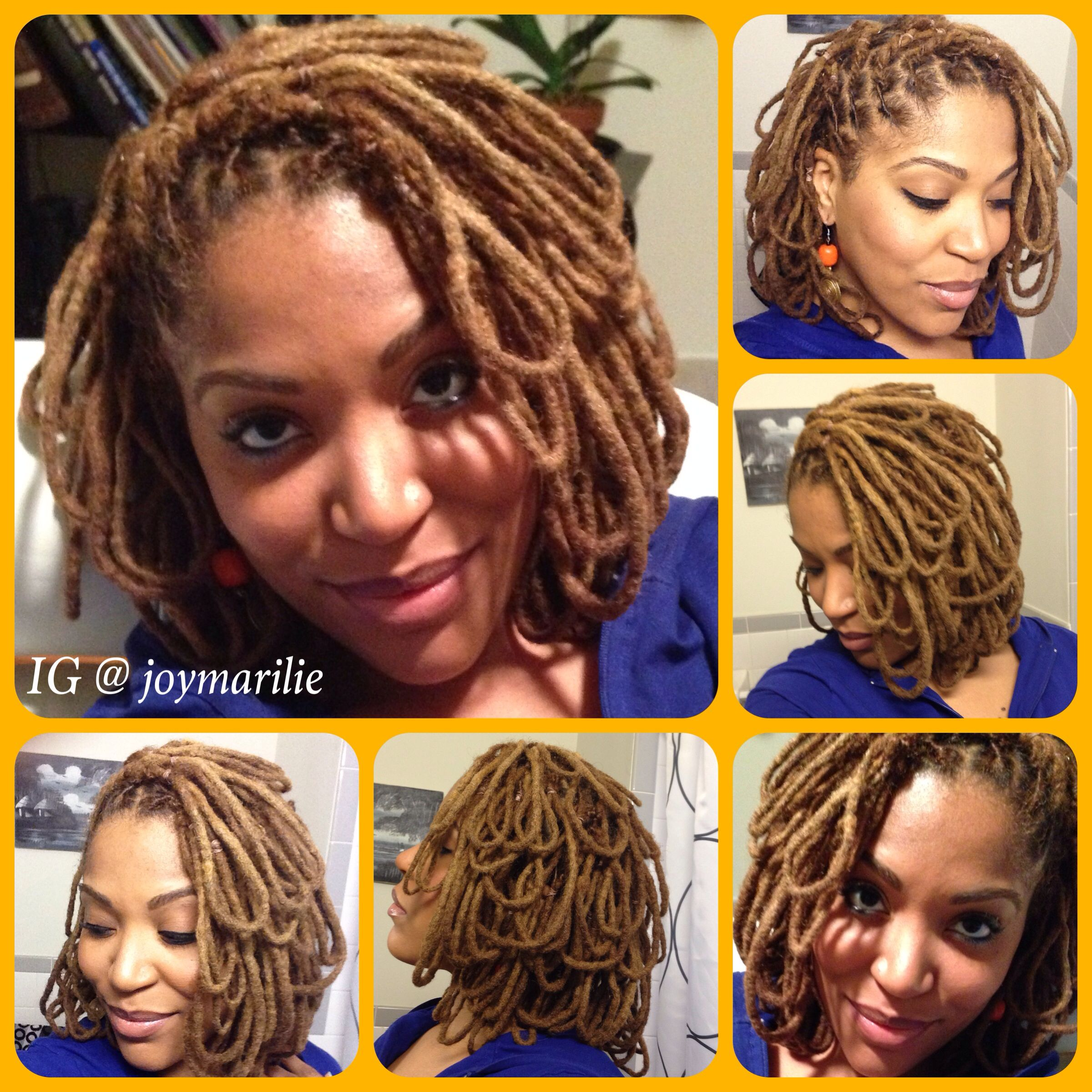 locs petals. loc hairstyles | my loc styles and experiments