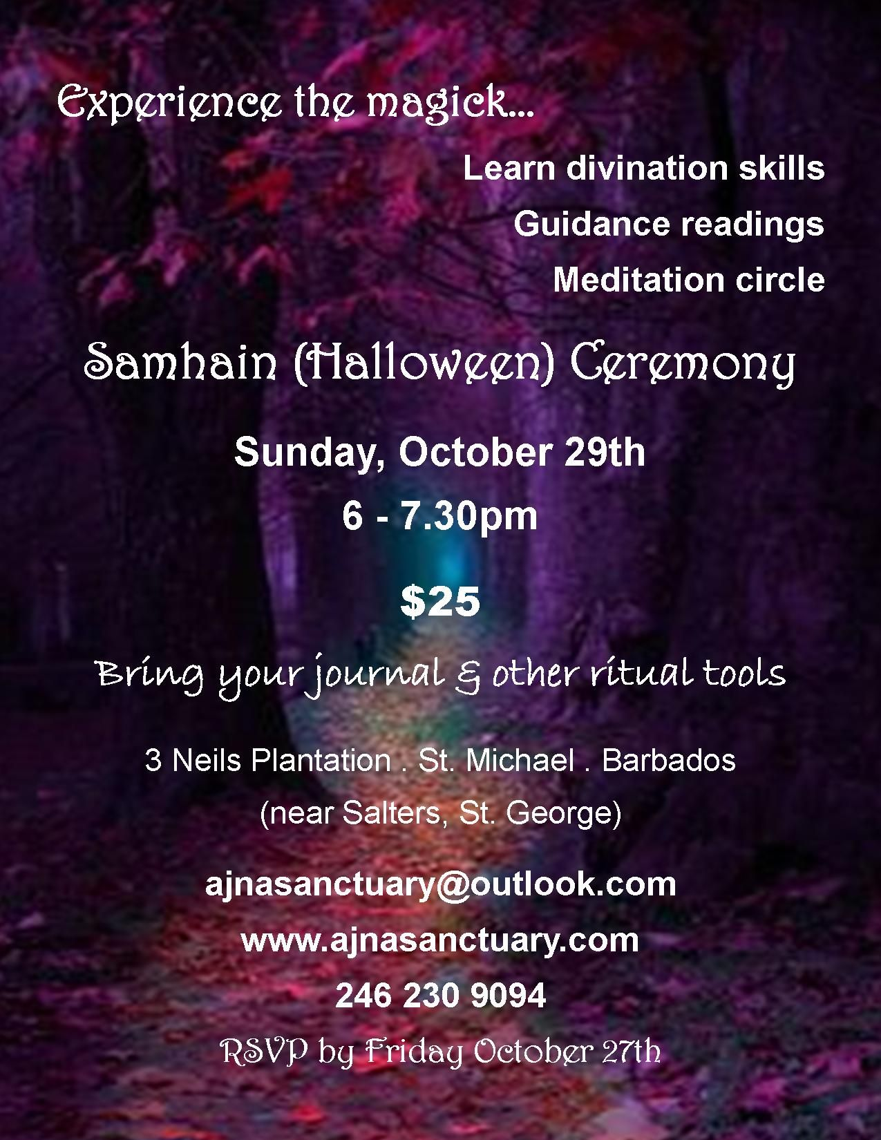 Celebrate Samhain And Learn New Divination Techniques