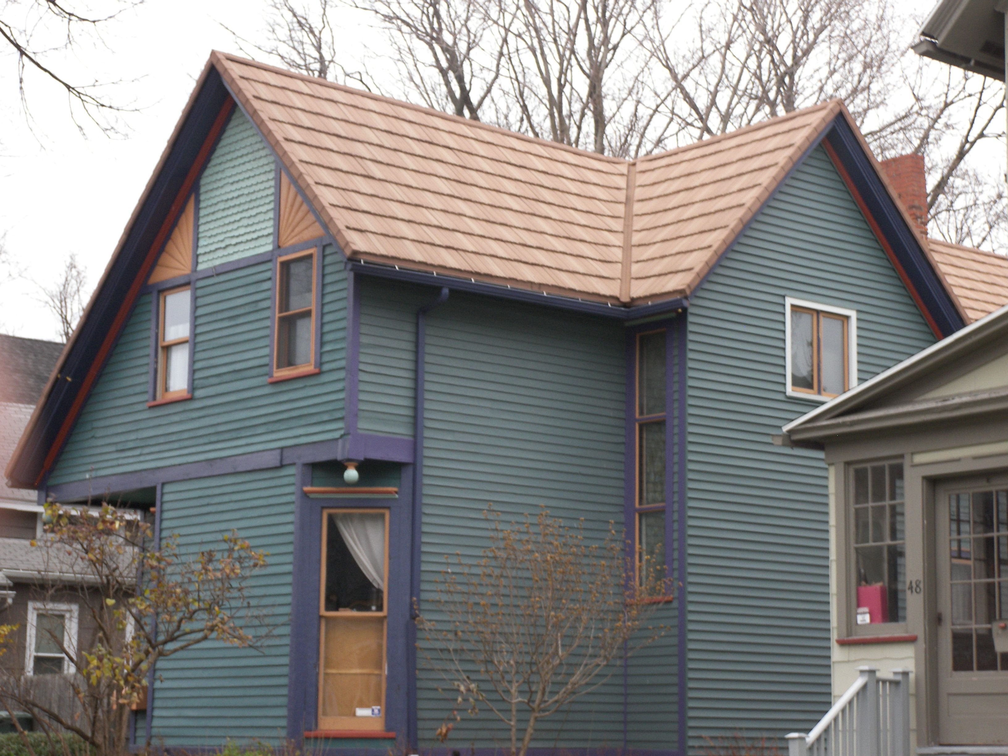 Stone Coated Steel Wood Shake Color Autumn Gold Roof Colors Wood Shakes Steel Roofing