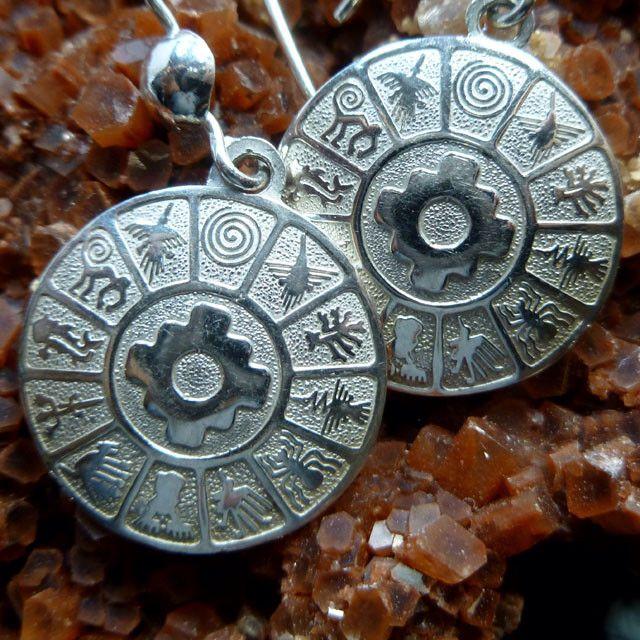 d23334b4745d Peruvian Nasca lines Jewellery Joyas Zodiac Chakana