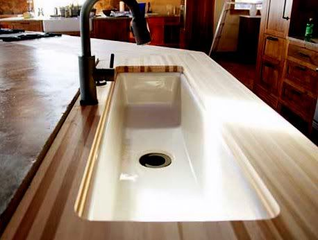 The Lodge (Pioneer Woman) Kitchen Vegetable Sink. I Love This Long, Skinny  Shape For Prep!