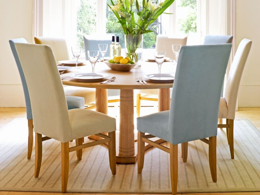 Pin by 나무 on 식탁 Pinterest Large round dining table, Round