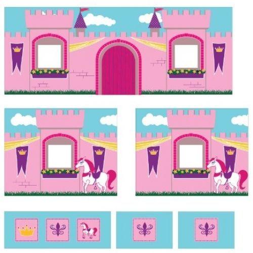 Dorel Home Products Curtain Set For Junior Loft Bed Princess Castle