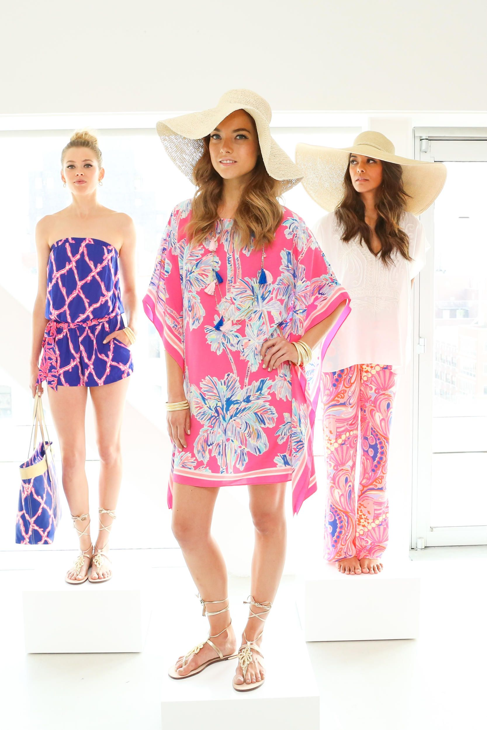 For the First Time, Lilly Pulitzer Hosts a Resort Preview
