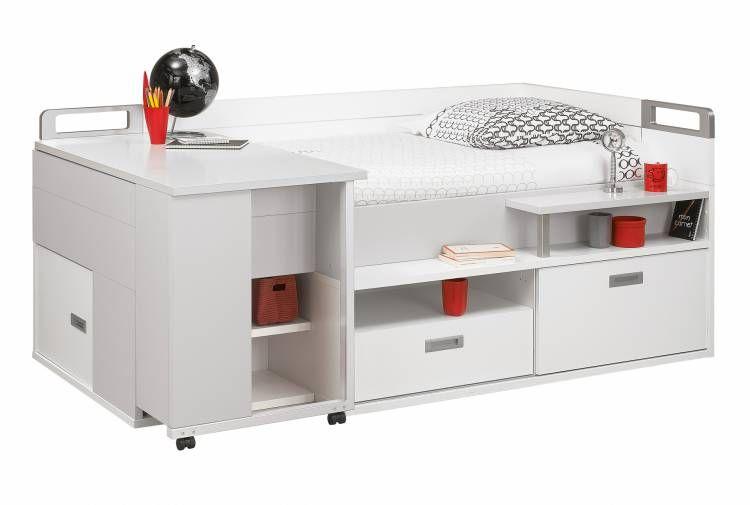 Compact Bed 120x200 Desk Raumgestaltung Hochbett Raum