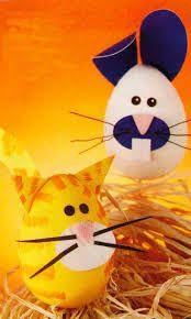 huevos de pascuas decorados - Buscar con Google
