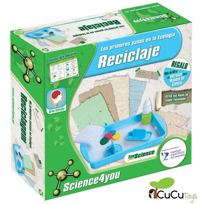 23c5830452b9 4M - Crea tus propios abalorios de papel reciclado, juguete creativo ...