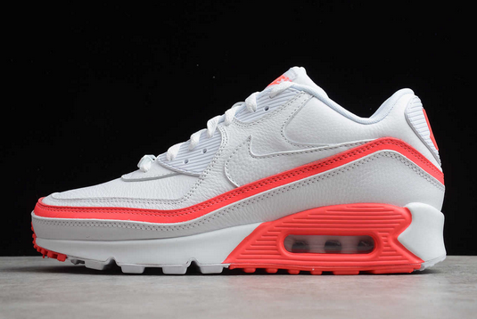 """HOT SELL UNDEFEATED X NIKE AIR MAX 90 """"WHITE SOLAR RED</p>                     </div> <!--bof Product URL --> <!--eof Product URL --> <!--bof Quantity Discounts table --> <!--eof Quantity Discounts table --> </div> </dd> <dt class="""
