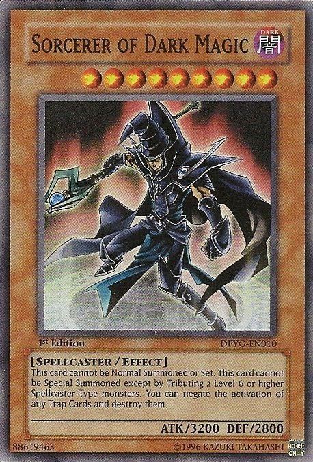 Sorcerer Of Dark Magic Rare Yugioh Cards Dark Magician Cards
