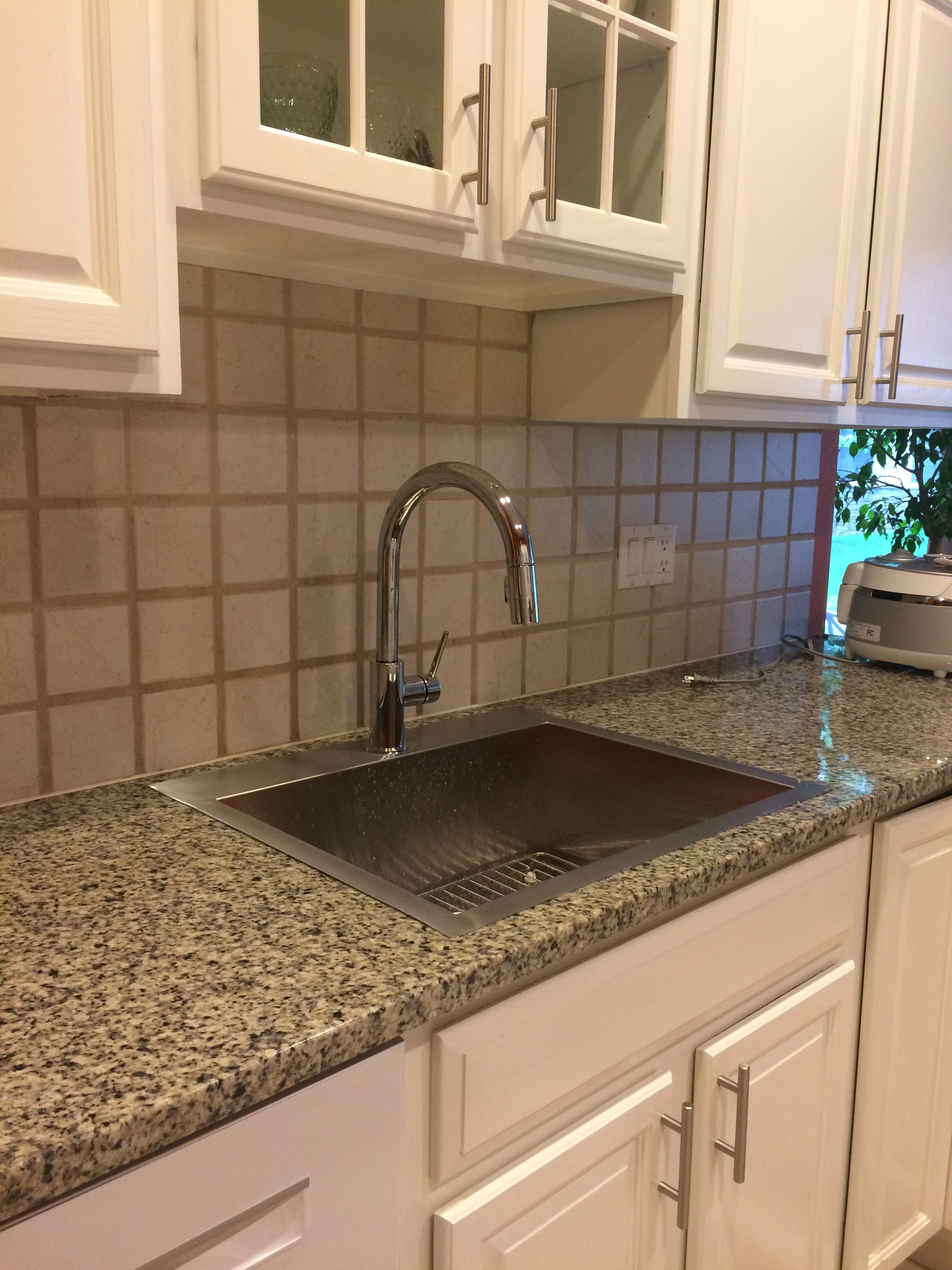 K 3822 Sink Drop In Overmount Kitchen Sink And Faucet Update