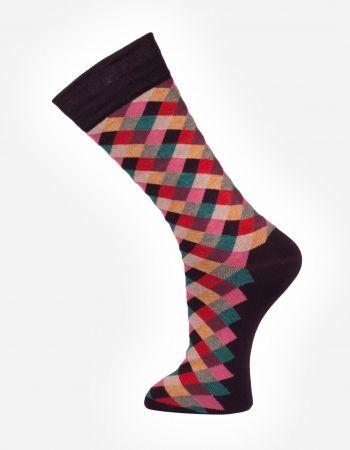Check no.907  Effio #Dandy #Mensstyle #Mensfashion #Gentleman #Socks #DutchDesign #MadeinItaly #Check #Colourful