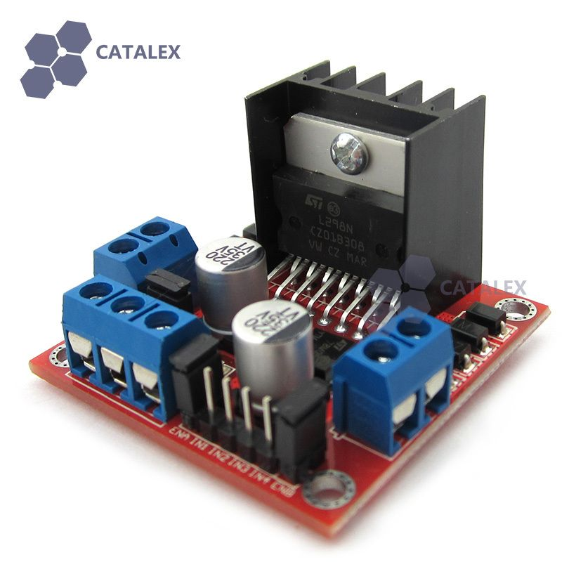 L298N H-Bridge Motor Driver Module for Arduino / AVR / STM32