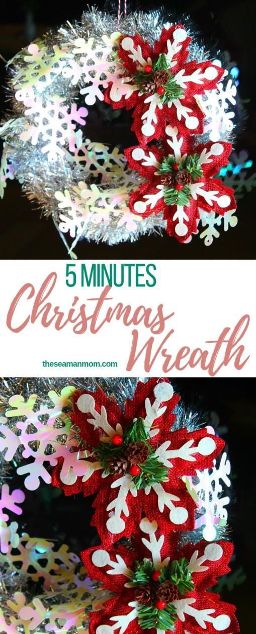 Get into the Christmas spirit with this 5 minute tinsel