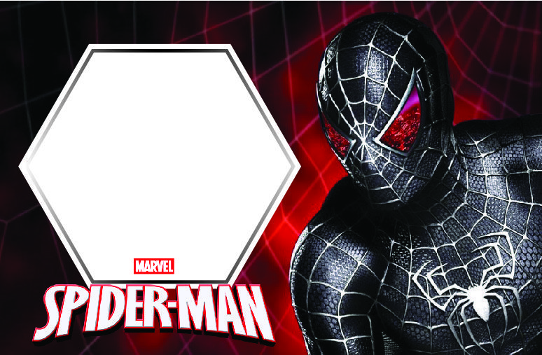 Download Free Printable Spider Man Birthday Invitation