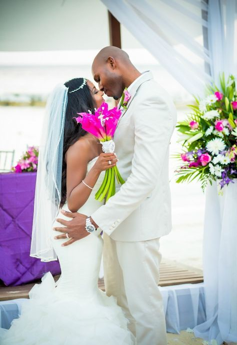 Montego Bay Jamaica Wedding From Dwayne Watkins Photography Bajan Wed Jamaican Wedding Jamaica Wedding Beach Wedding Red
