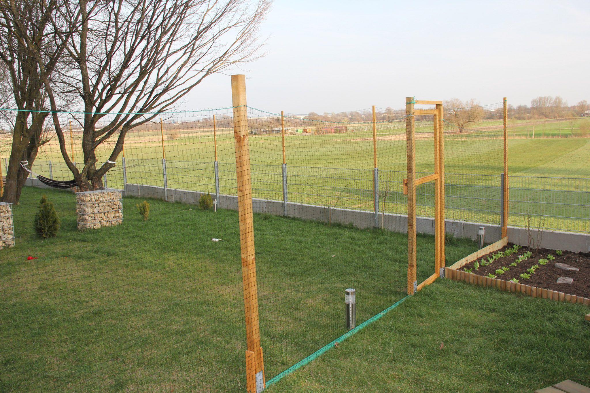 Katzen Freilauf Gehege Zaun Netz sicherer Auslauf für