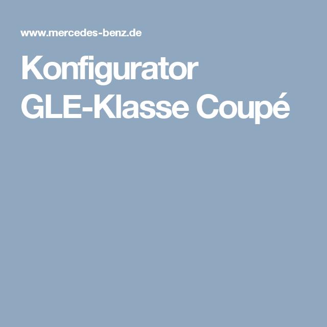 konfigurator gle-klasse coupé   gle coupe amg   coupe, mercedes benz