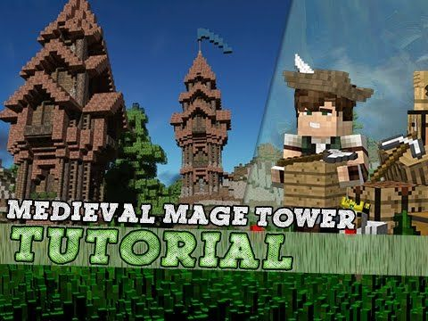Minecraft: How To Build A Mage Tower | Survival Tutorial