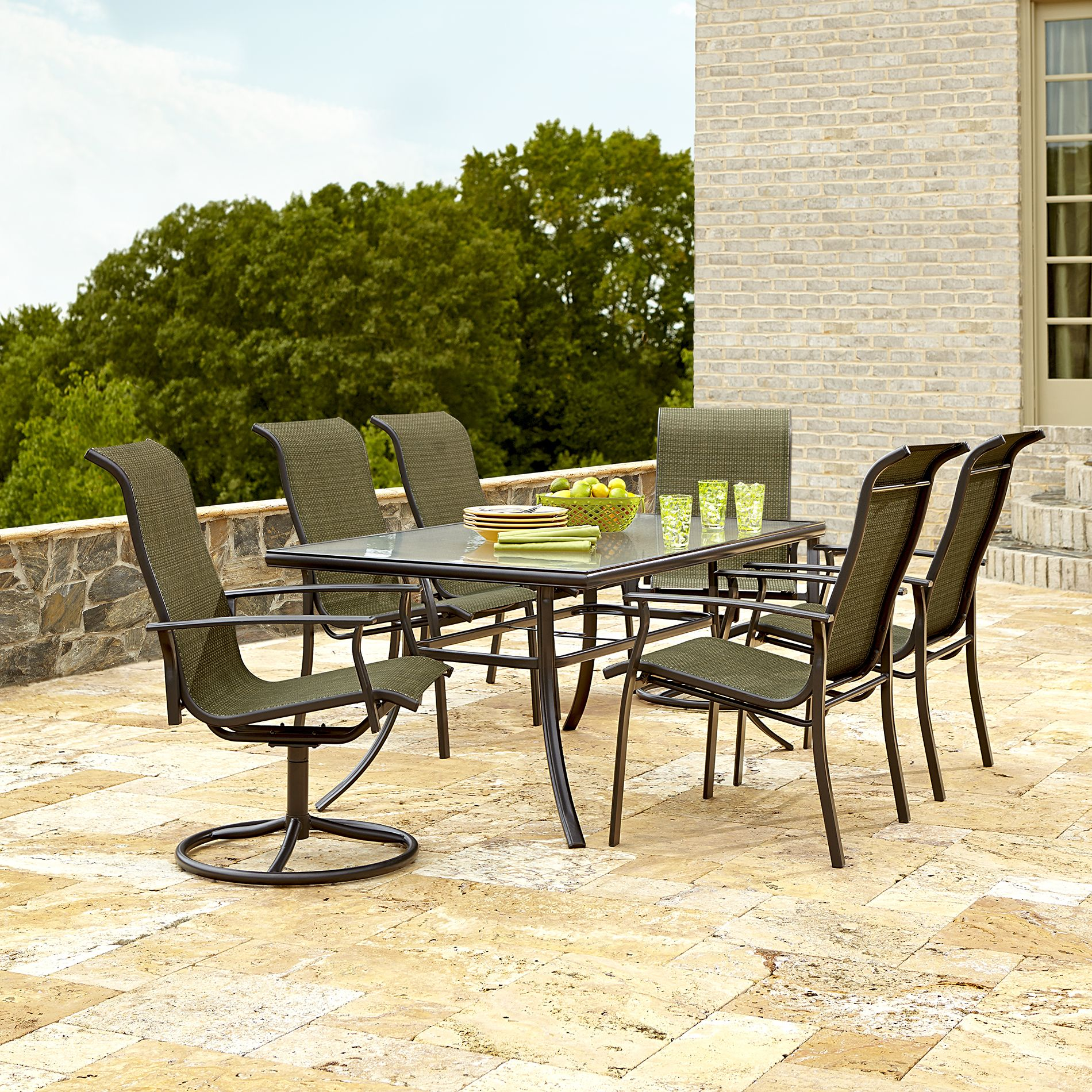 Escape To The Great Outdoors With Garden Oasis Harrison Outdoor Dining Set
