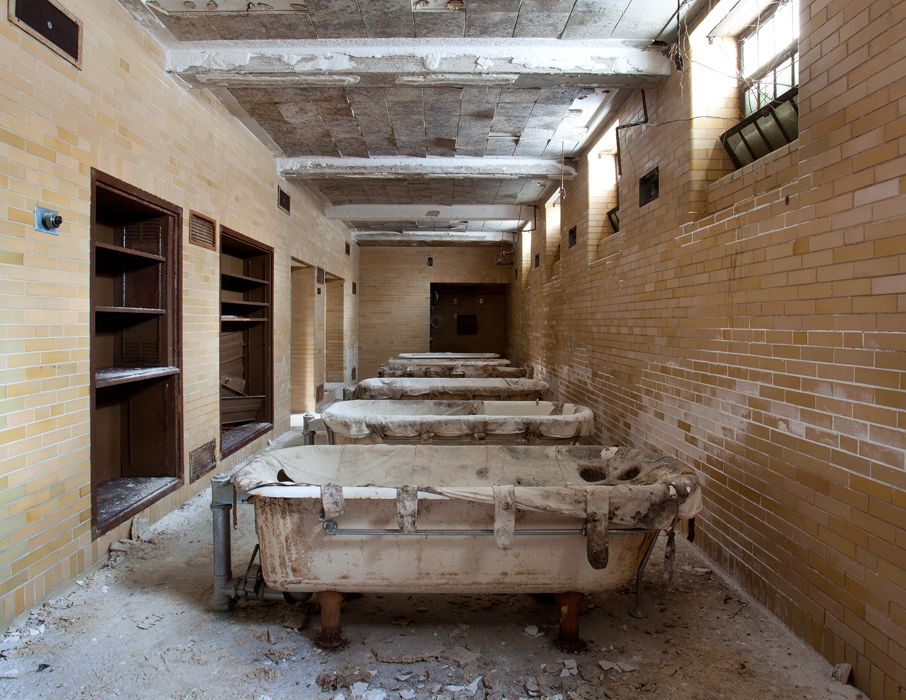 """destroyed-and-abandoned: """"Hydrotherapy tubs, MA State Hospital ..."""