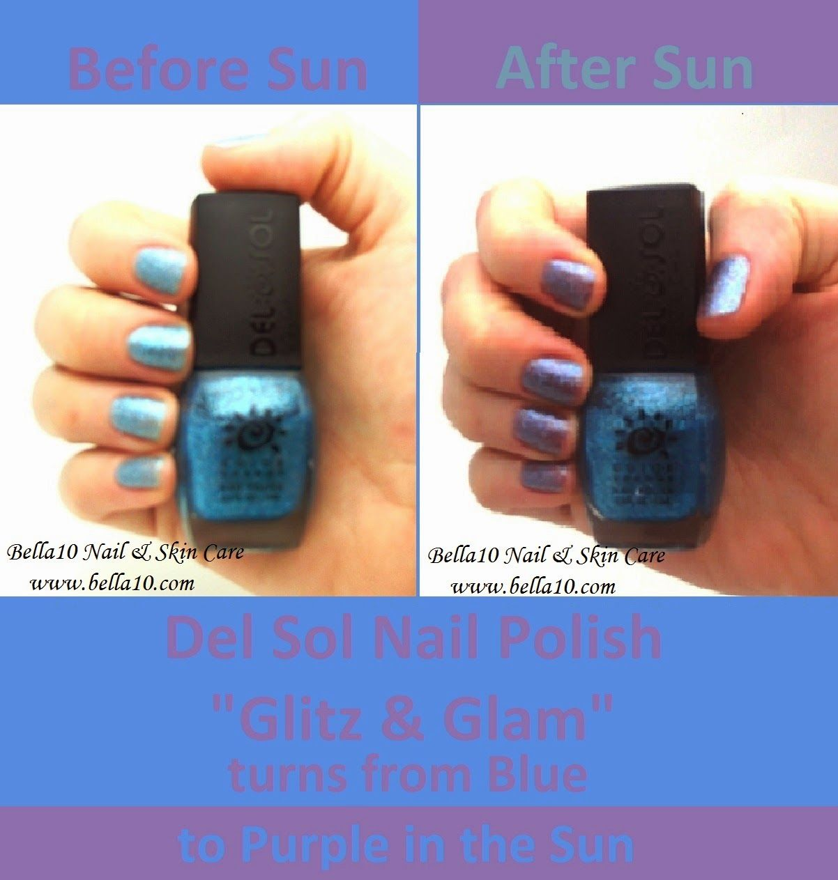 Del Sol Color Changing Nail Polish - \