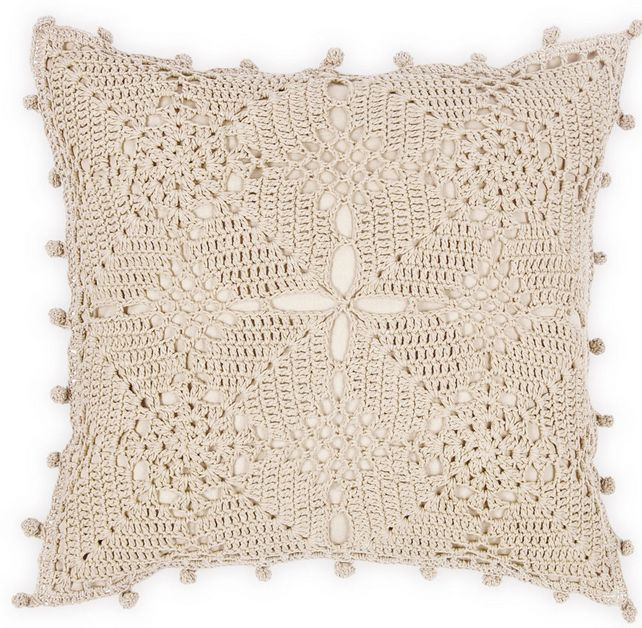 zara home pillow crochet pinterest kissen. Black Bedroom Furniture Sets. Home Design Ideas