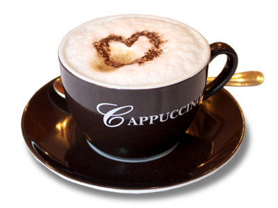 Cappuccino Png Coffee Today Cappuccino Chocolate Powder