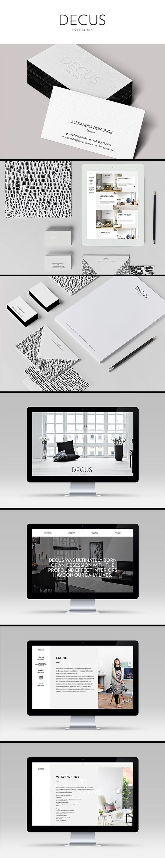 Decus interiors branding branding design and branding agency for Interior design branding agency