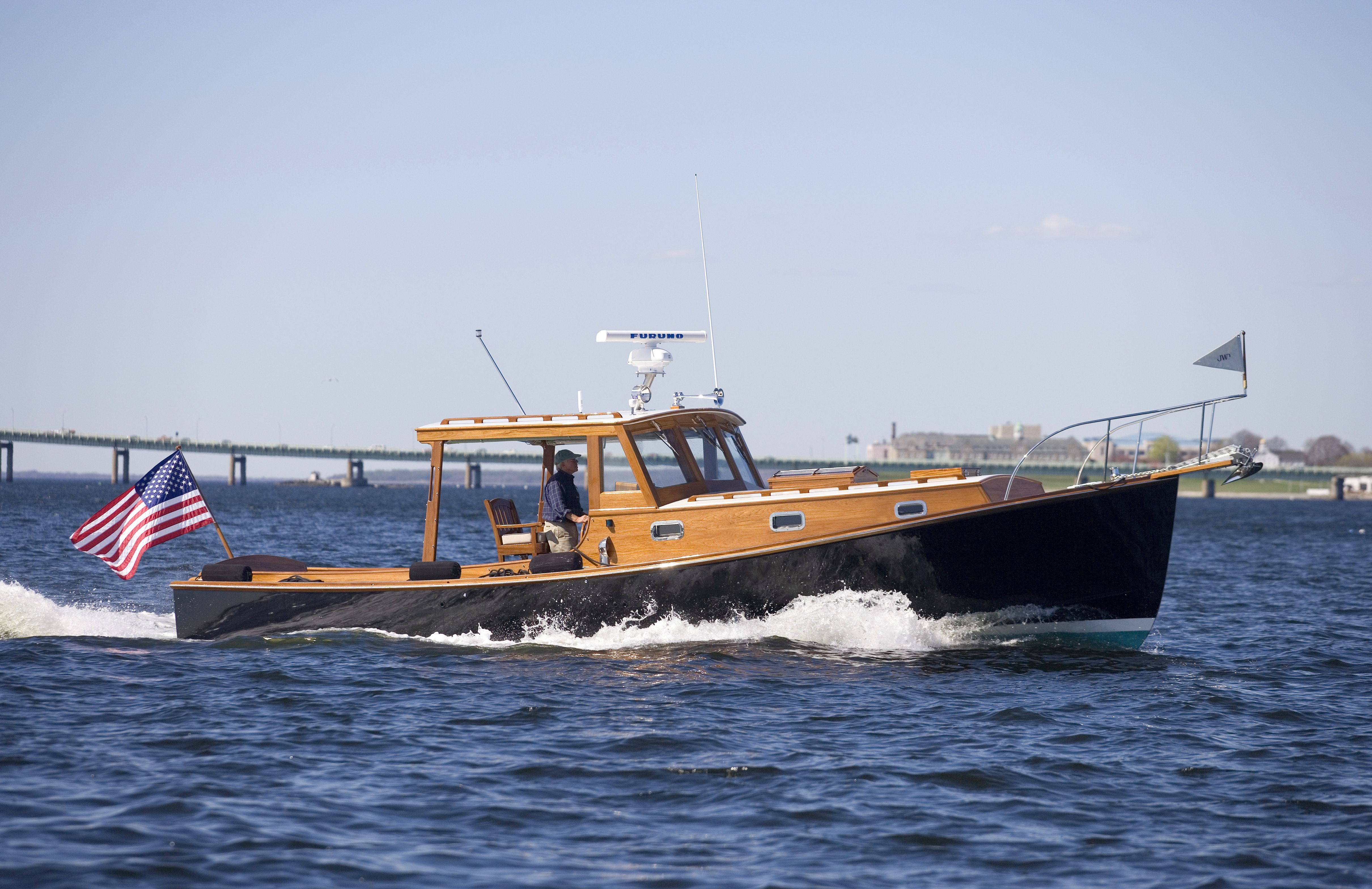 Boats yachts maine boats lobster boats picnic boats sailing - The Stanley 36 John Williams Boat Company