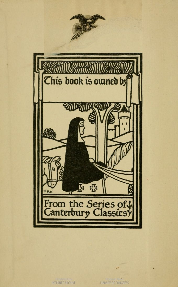 A Lovely Bookplate Found In The Water Babies A Fairy Tale For A