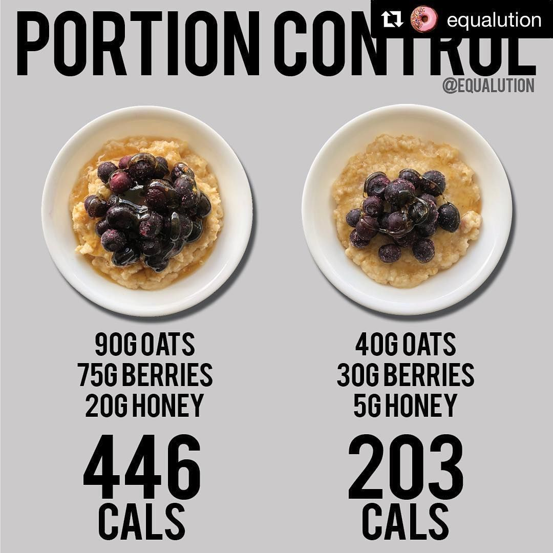 Who loves oats!? ME TOO But be wary of the portion size