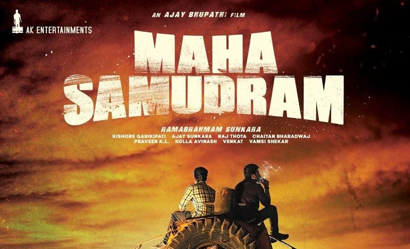 Sharwanand, Siddharth, Ajay Bhupathi, AK Entertainment's 'Maha Samudram' Releasing On August 19th