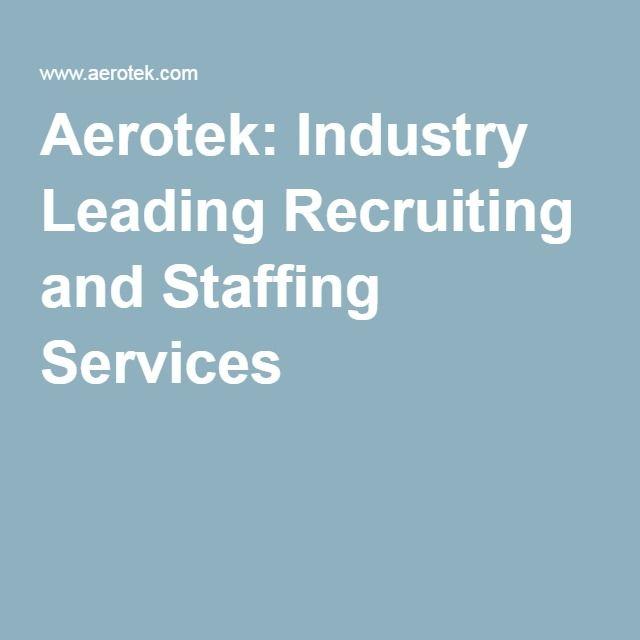 Aerotek Industry Leading Recruiting and Staffing Services Local - aerotek recruiter sample resume
