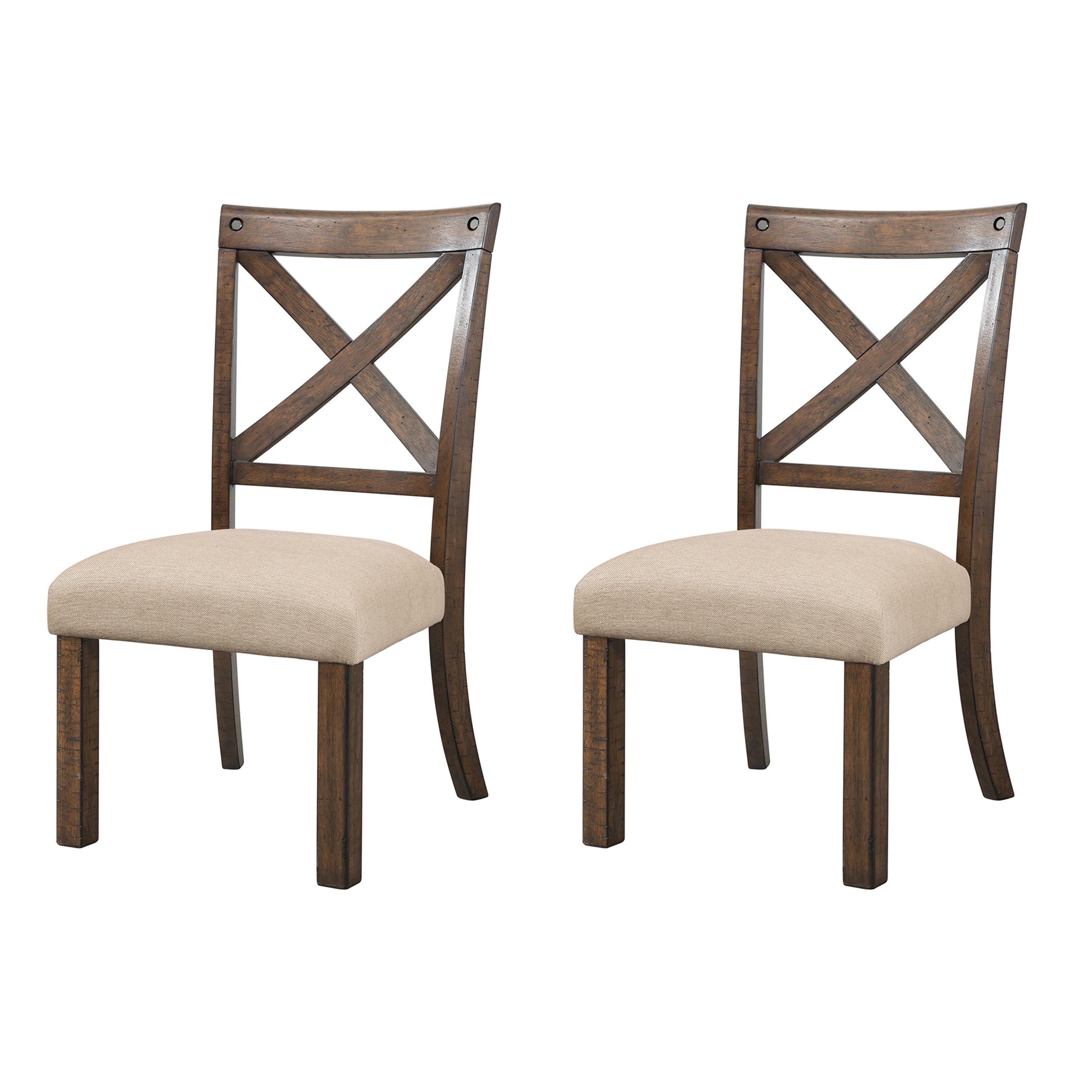 Picket house furnishings francis wooden dining chair set xback
