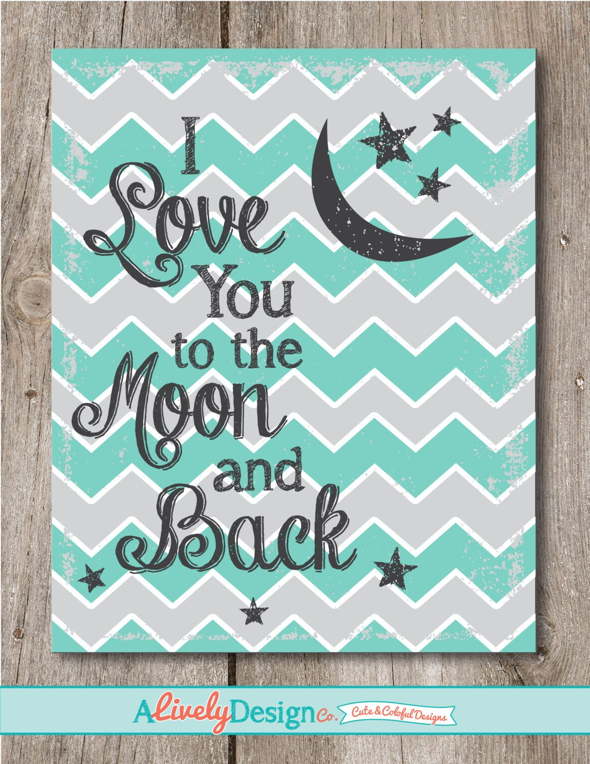 A personal favorite from my Etsy shop https://www.etsy.com/listing/220561763/baby-shower-present-nursery-decor-moon