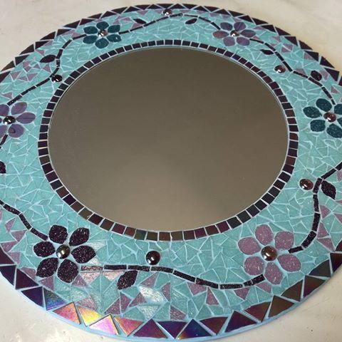 Resultado de imagen para espejos con mosaicos   MOZAICO   Pinterest ...